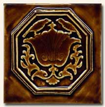 Reproduction Art Nouveau Tile V5B