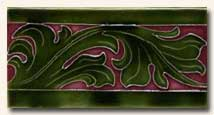 Reproduction Art Nouveau Tile V5A