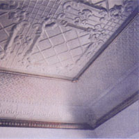 pressed metal ceiling tiles