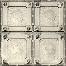 Reproduction pressed metal ceiling tile13B