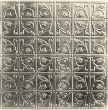 Reproduction pressed metal ceiling tile